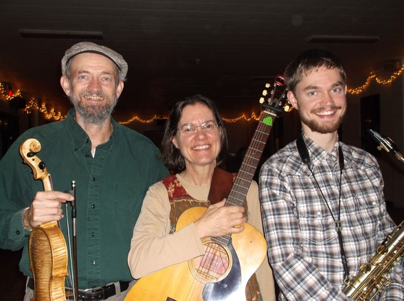 The McKenzies (Woody, Marcia & Keenan), contra dance musicians